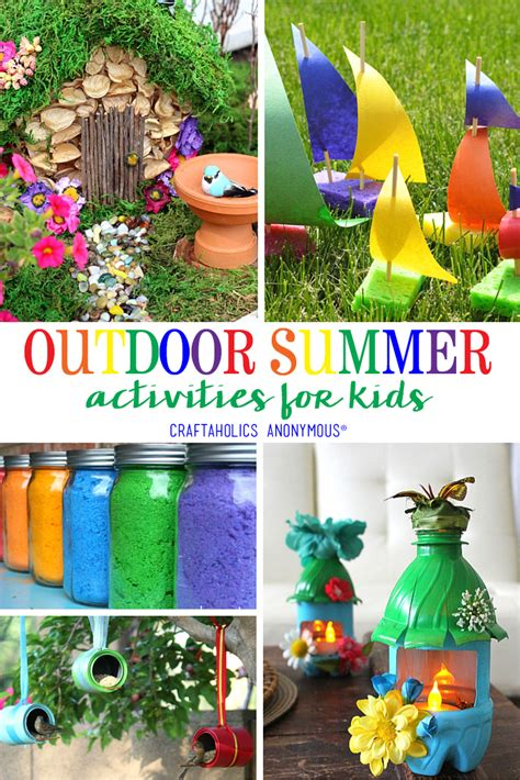 Craftaholics Anonymous 174 Summer Outdoor Crafts For