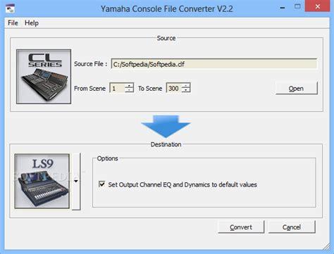 style format 2 converter yamaha yamaha console file converter download