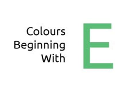 a to z of colours media