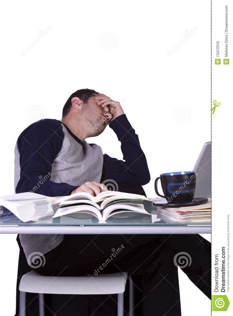 desk for college student college student sleeping on his desk stock photo image 13472310
