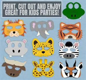 Animal Templates For Crafts by Best 25 Animal Masks Ideas On