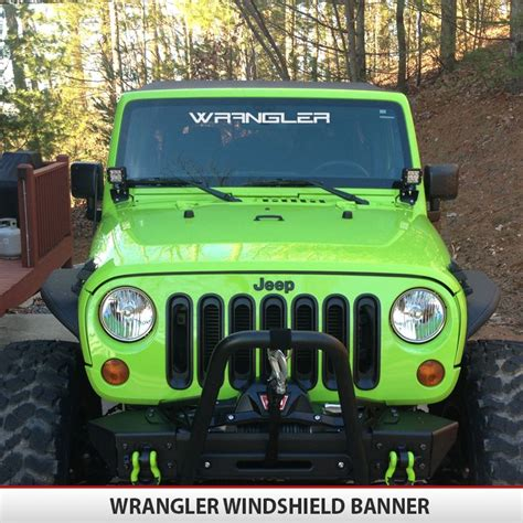 jeep windshield decal wrangler windshield alphavinyl