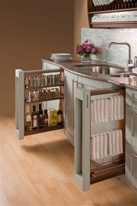 kitchen cabinet gadgets storage ideas traditional kitchen other metro by