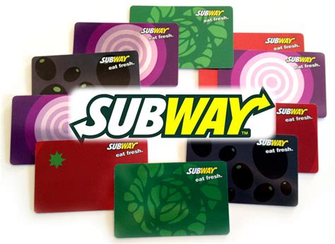 How To Get Free Subway Gift Cards - giveaway subway gift cards living rich with coupons 174 living rich with coupons 174