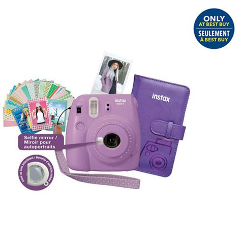 Best Seller Fujifilm Instax Mini Instax Sp 2 Sp2 fujifilm instax mini 9 instant bundle smokey purple only at best buy instant