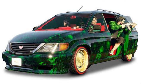 gta     adversary mode  vapid minivan