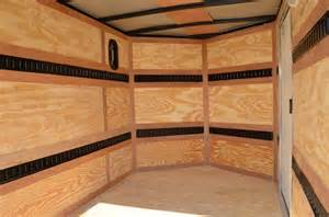 Shelf Above Bed Cargo Trailers For Sale V Nose Trailers Enclosed Trailers