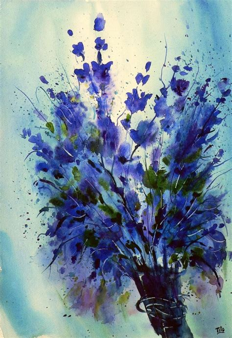 fiori dipinto fiori flowers tito fornasiero