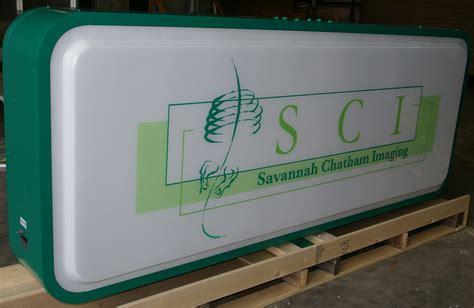 wholesale aluminum illuminated extruded sign cabinets