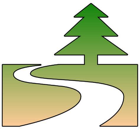 trail clipart nature trail cutout clip at clker vector clip