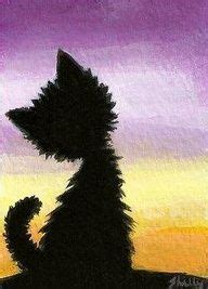 easy cat painting ideas thousands of ideas about drawing sunset on