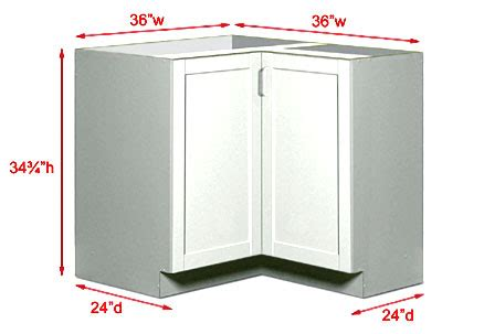 Corner Cabinet Sizes by Kitchen Corner Wall Unit Size Reversadermcream