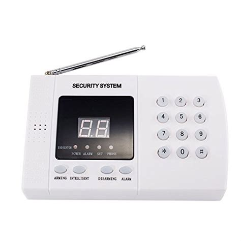 imeshbean 174 pir wireless home security burglar alarm system