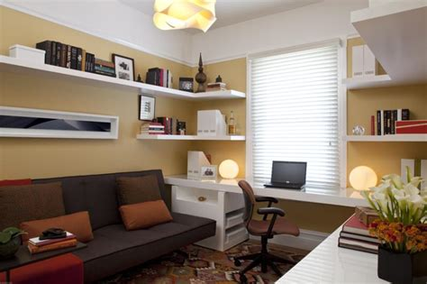 Small Home Office Den Design Ideas Como Decorar Home Office Escrit 243 Em Casa Franquia Empresa