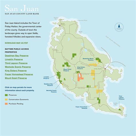 san juan map san juan island map san juan county land bank