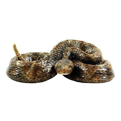 Garden Snake Rattle Michael Carr Designs 80058 Western Diamondback Rattlesnake
