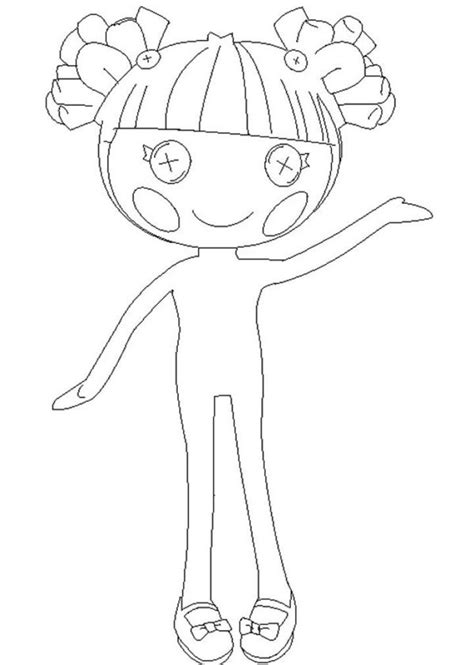 lalaloopsy mittens coloring page giving task for kids to have lalaloopsy coloring pages