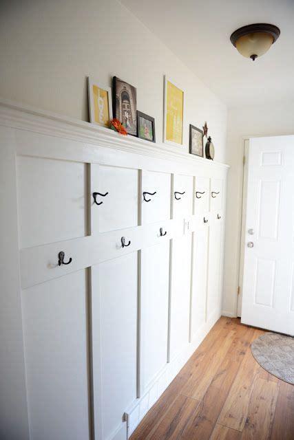cute idea    decorate  long awkward entryway