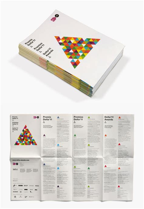 leaflet design brief 13 best film festival brochures brief images on