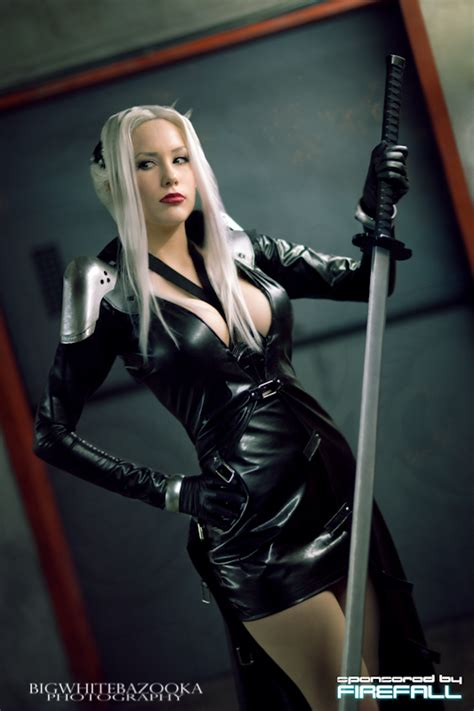 lady sephiroth   ff7 ii by crystalgraziano on deviantart