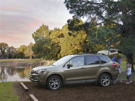 subaru forester 2018 2018 subaru forester price photos reviews safety