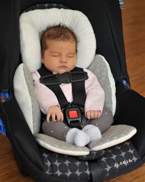 preemie car seat support new born baby infant stroller car seat mat protection
