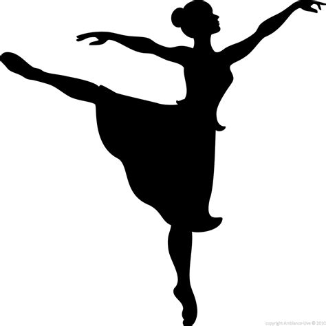 Home Decoration Wall Stickers by Figures Wall Decals Wall Decal Ballerina Silhouette
