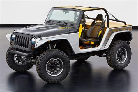 Carbon Fiber Jeep Jeep 174 And Mopar Reveal Six New Concept Vehicles Cartype