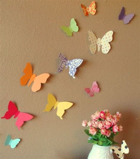 Paper Decorations For Bedrooms by Diy Cheap Wall Decor Ideas Do It Yourself Ideas And Projects