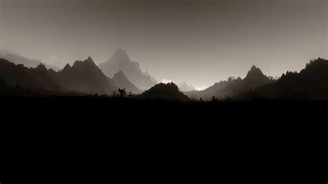 Home Design 3d Mac Full by The Elder Scrolls V Skyrim Landscape Monochrome