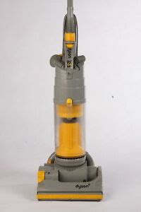 dyson dc silver  yellow bagless vacuum cleaner ebay