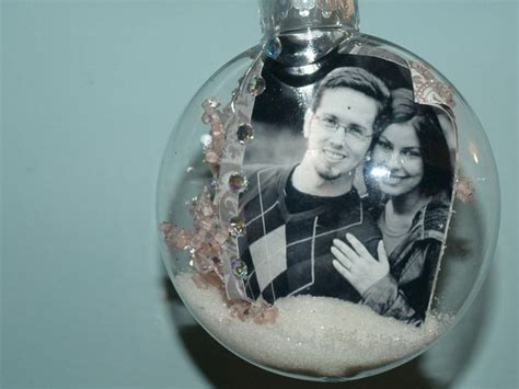 diy ornaments for grandparents 21 best clear bauble ideas images on ornaments balls