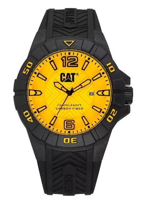 Caterpilar K1 121 21 731 pezcalandia reloj cat karbon yellow k1 121 21 731
