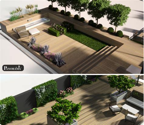 Amenagement Terrasse Exterieure Appartement 2294 by Mod 233 Lisation 3d Projet 75012 2modelisations 3d