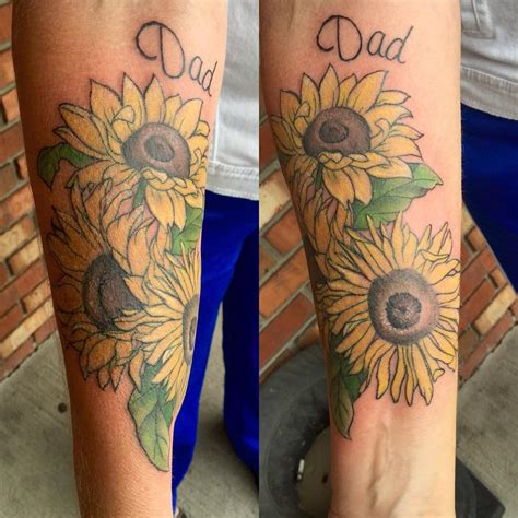 bright tattoos 80 bright sunflower tattoos designs meanings for