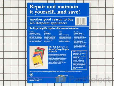 Ge Wx10x114 Washing Machine Repair Manual Partselect