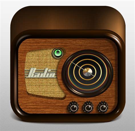 vector radio tutorial create a radio app icon adobe illustrator illustrator
