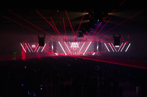san holo dallas photos lights all night 2016 night 1 in dallax tx