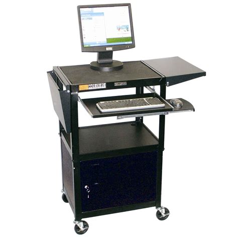 adjustable computer workstations desk benefits