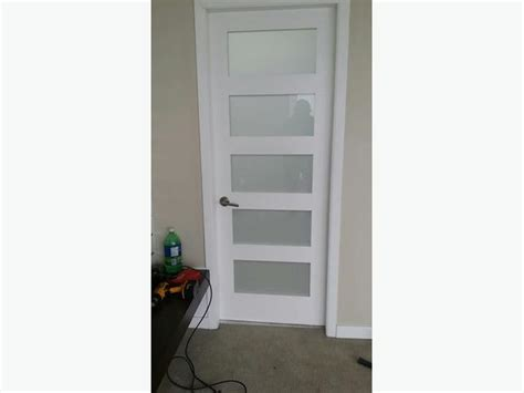 5 Panel Door by 2 Glass 5 Panel Doors One Pocket Door 30 X 80 Malahat