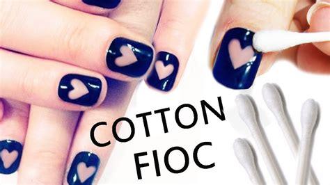 tutorial nail art gang nail art tutorial facilissima con cotton fioc youtube