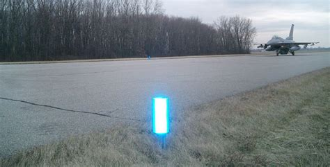 valley illuminators visual marking systems driveways reflectors