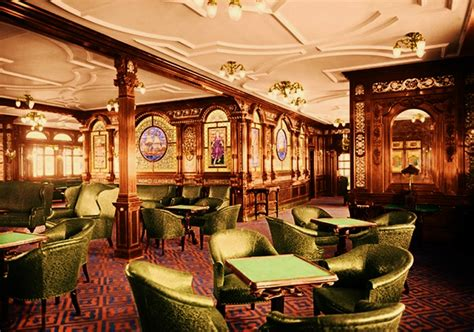 Titanic First Class Dining Room by First Class Smoke Room Titanic Wiki Fandom Powered By
