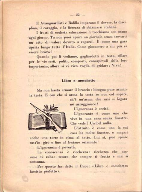 libri di testo pdf la repubblica della carnia gli ideali fascisti nei libri