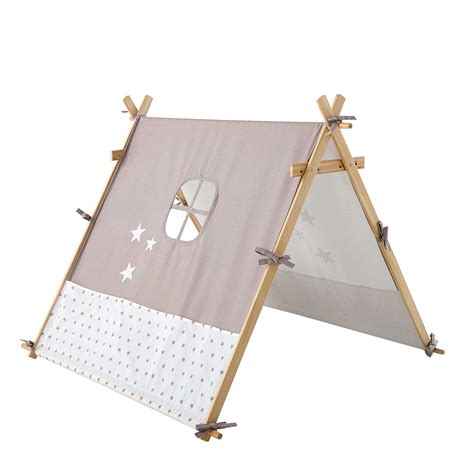 tenda per bambini tenda con motivi a stella per bambini 80 x 100 cm songe