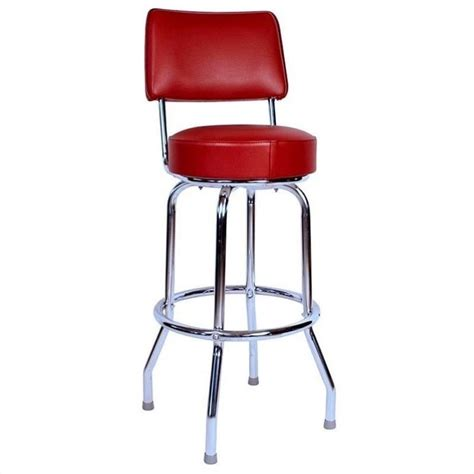retro swivel bar stools richardson seating retro 1950s 24 quot swivel bar stool in