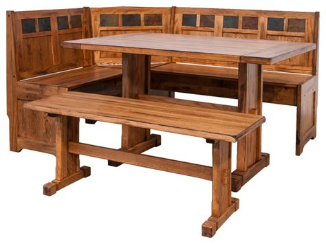 kitchen oak veneer wood corner bench dining table set 92 kitchen dining sets rolling chairs oak veneer wood