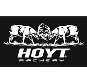 Hoyt Fighting Bucks Decal 1125in X 55in
