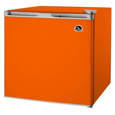 igloo 1 7 cu ft mini refrigerator in orange fr115i