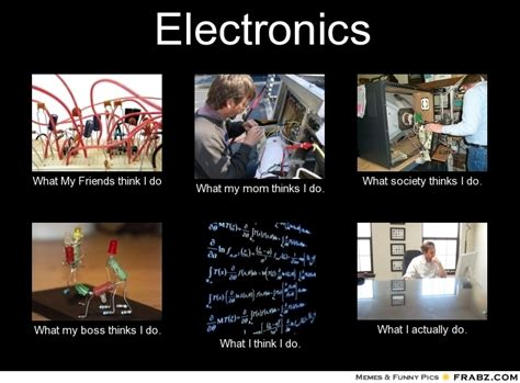 What Society Thinks I Do Meme Generator - electronics what people think i do what i really do